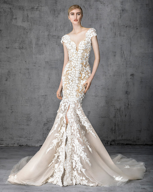 White Wedding Dress Queen Victoria: Victoria Kyriakides Spring 2019 Wedding Dress Collection