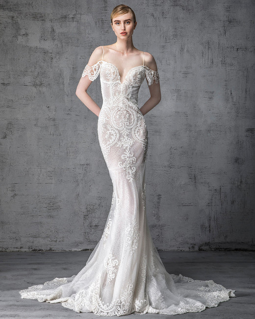 victoria kyriakides wedding dress spring 2019 spaghetti-strap off-the-shoulder