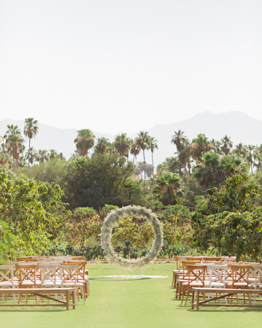 brittany craig wedding ceremony layout