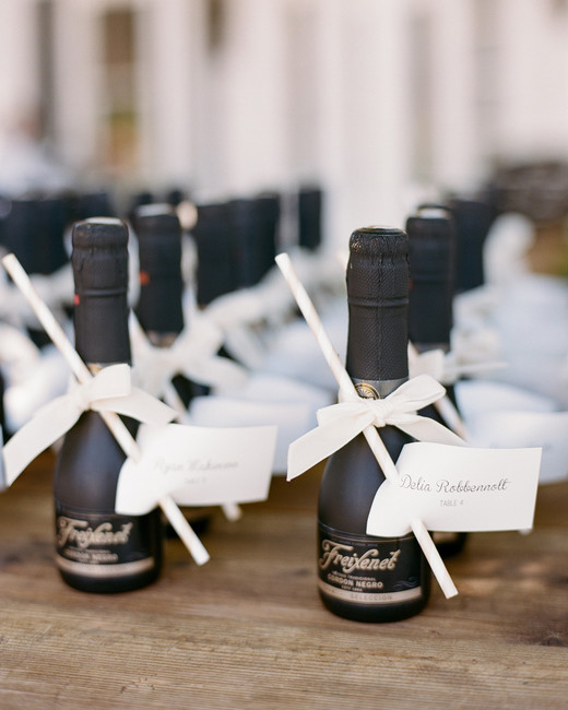destination wedding favors wine mini bottles