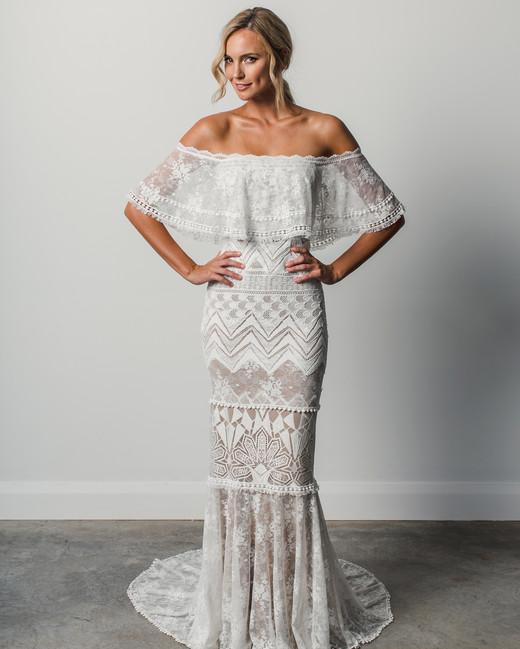 Unique Wedding Dresses Au: Grace Loves Lace Spring 2018 Wedding Dress Collection