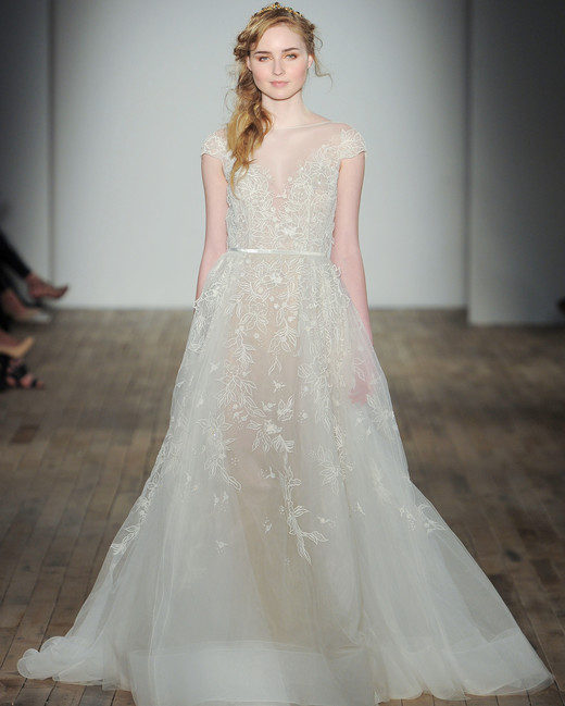 Hayley paige spring 2018 wedding dress collection martha stewart illusion organza a line hayley paige spring 2018 wedding dress collection junglespirit Choice Image