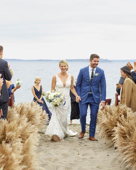 kaitlin dan wedding recessional