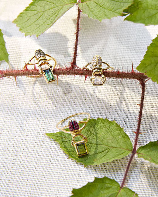 katie samuel bug rings