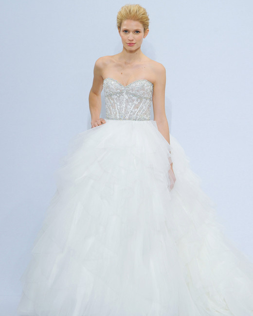 randy fenoli strapless wedding dress spring 2018