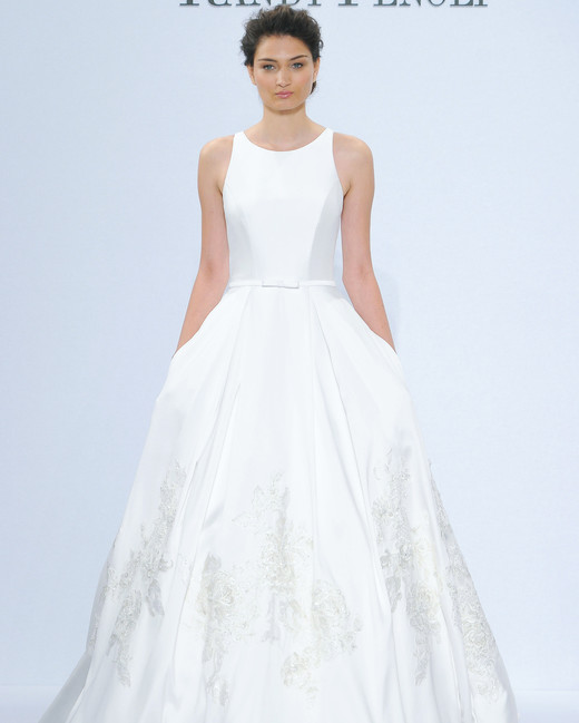 randy fenoli trumpet wedding dress spring 2018