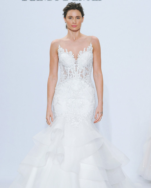 randy fenoli strapless mermaid wedding dress spring 2018