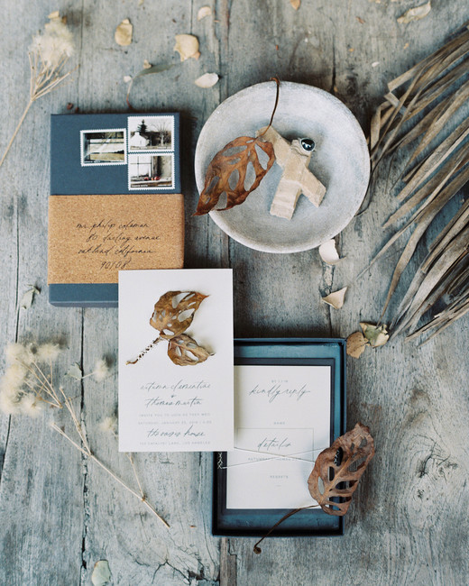 wedding invitation boxes this modern romance