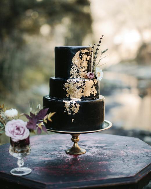 black wedding cake tyler branch frostitcakery