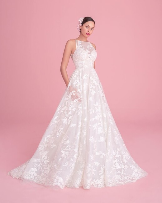"blush by hayley paige ""saige"" wedding dress spring 2019"