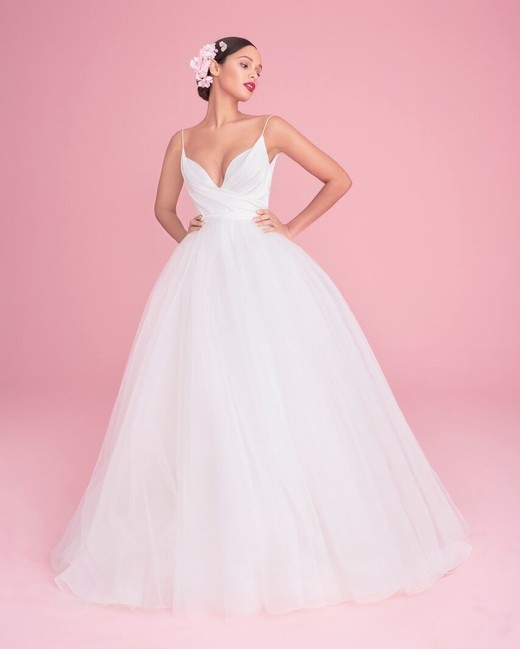 "blush by hayley paige ""olympia"" wedding dress spring 2019"