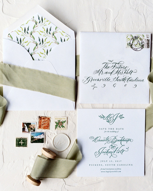 dani jackson wedding stationery