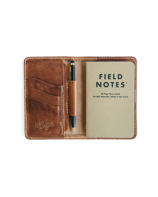 "Loyal Stricklin ""Edison"" Wallet in ""Tobacco,"""