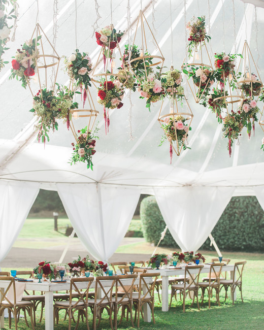 Flower Decoration Ideas For Weddings: Hanging Décor Ideas Guaranteed To Elevate Your Wedding