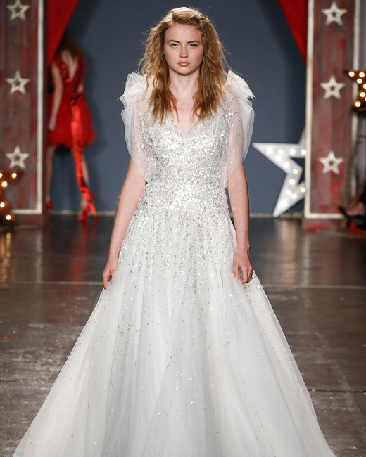 Jenny Packham Spring 2018 Wedding Dress Collection | Martha Stewart ...