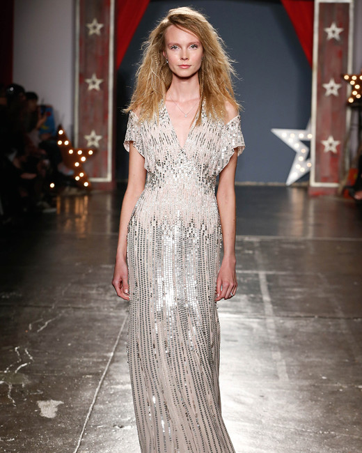 jenny packham wedding dress spring 2018 cut-out sleeves emboirdered