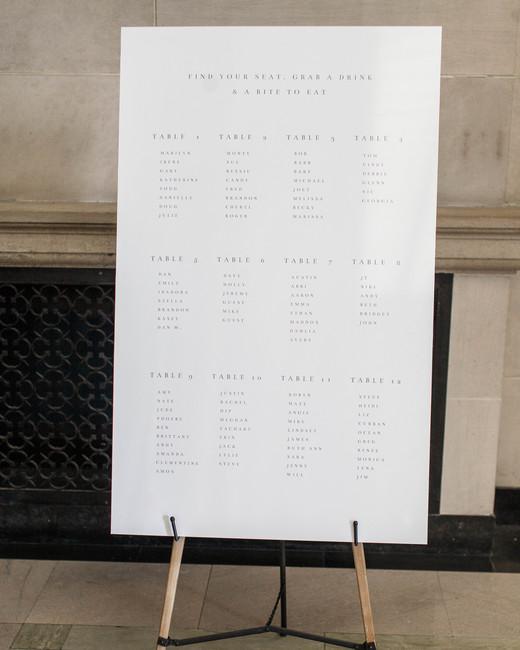 katie matthew ohio wedding seating chart