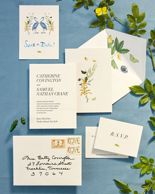 katie samuel stationery suite