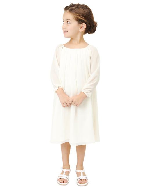 long sleeve flower girl dresses joanna august