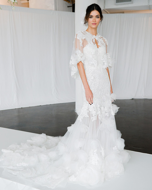 Wedding Dresses with Capelets