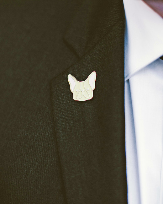 sara ryan wedding philadelphia groom pin