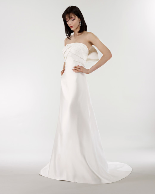 steven birnbaum bridal wedding dress spring 2019 strapless a-line