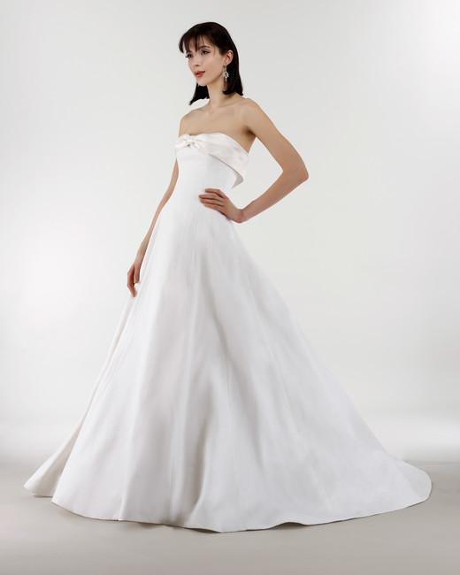 steven birnbaum bridal wedding dress spring 2019 strapless ribbon ballgown