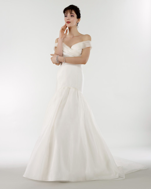 steven birnbaum bridal wedding dress spring 2019 trumpet off the shoulder