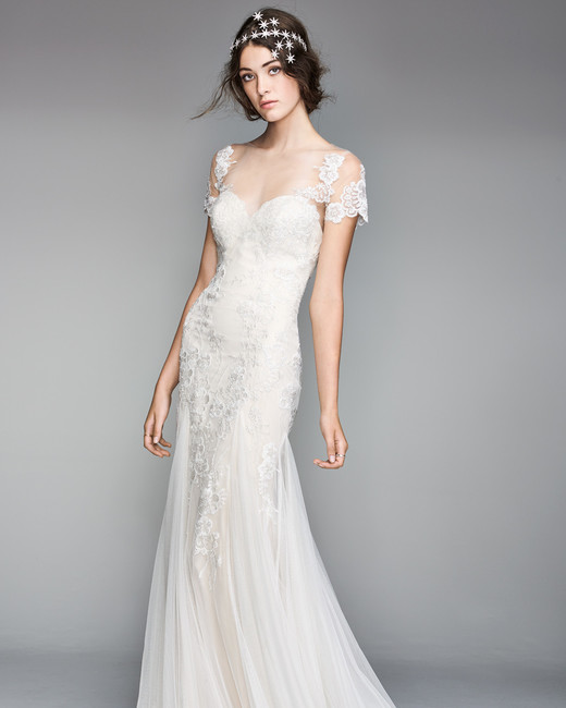 willowby by watters 2018 lace sleeve sweetheart wedding dress