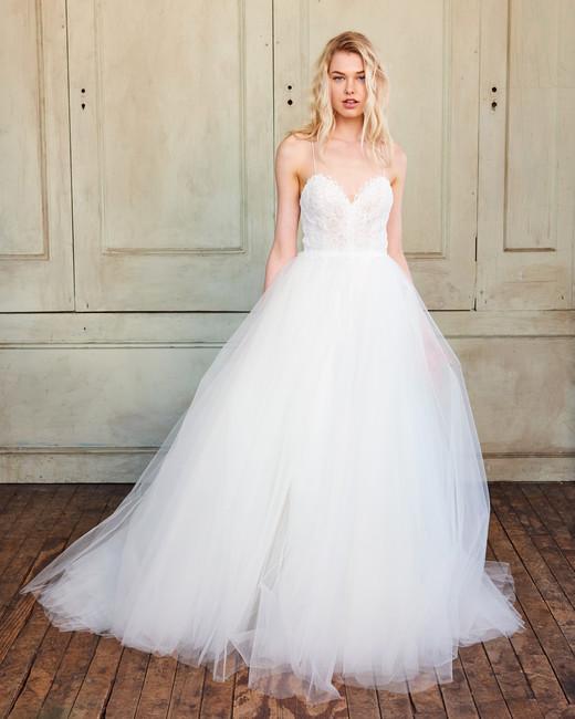 Tulle Wedding Dress 2018