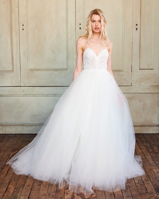Amsale Wedding Dress: Christos Spring 2018 Wedding Dress Collection
