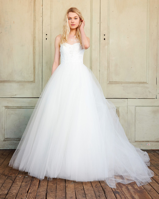 amsale christos illusion tulle wedding dress spring 2018