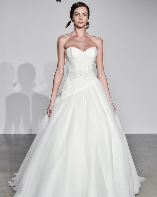 justin alexander fall 2018 sweetheart a-line wedding dress