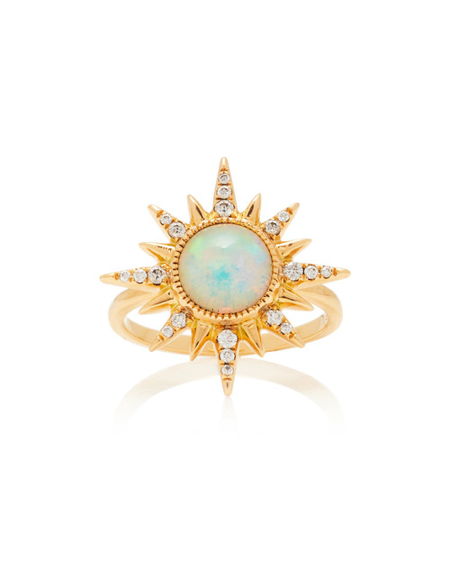 electra maxima opal engagement ring