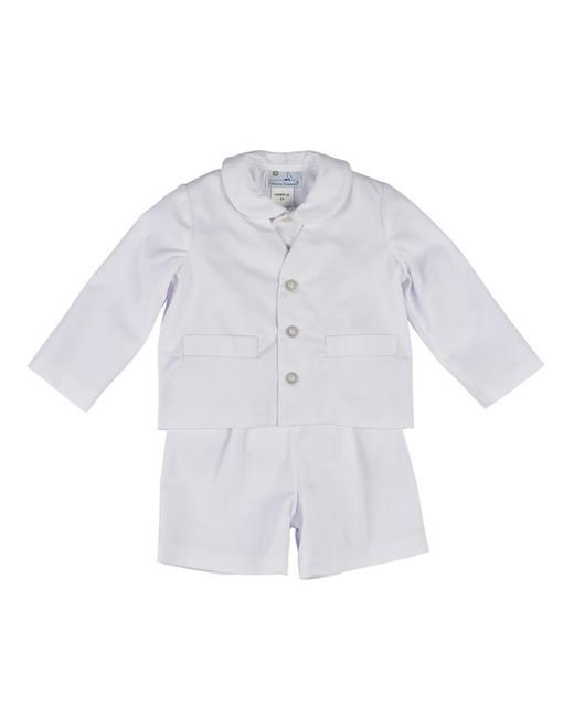 Florence Eiseman Eton Fine Wale Pique Suit