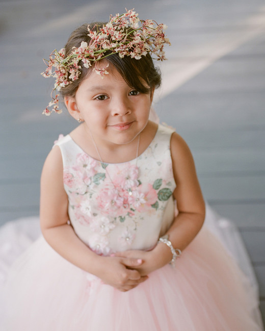 suzanne joseph wedding flower girl corbin gurkin