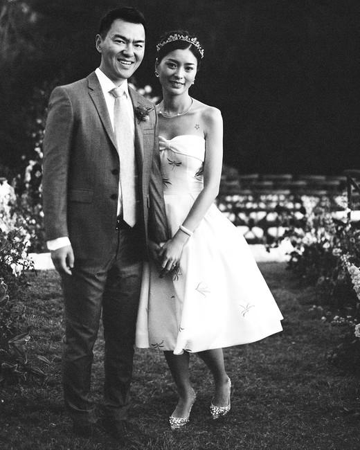 ivana nevin wedding reception dress