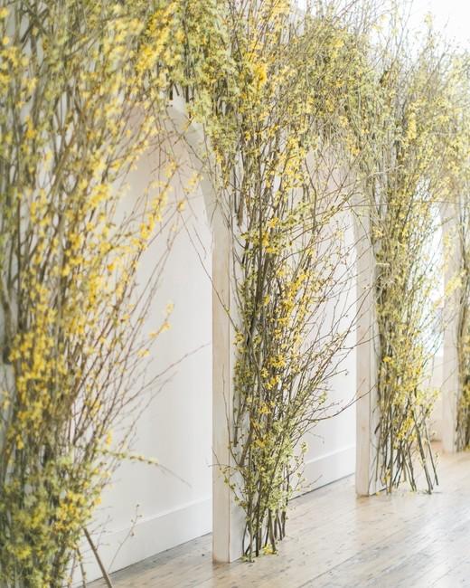 kae danny wedding floral arches