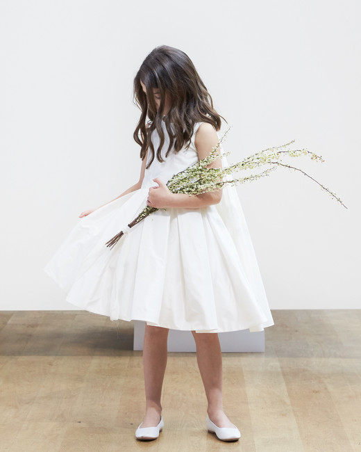 flower girl Oscar de la Renta Spring 2018 Wedding Dress Collection