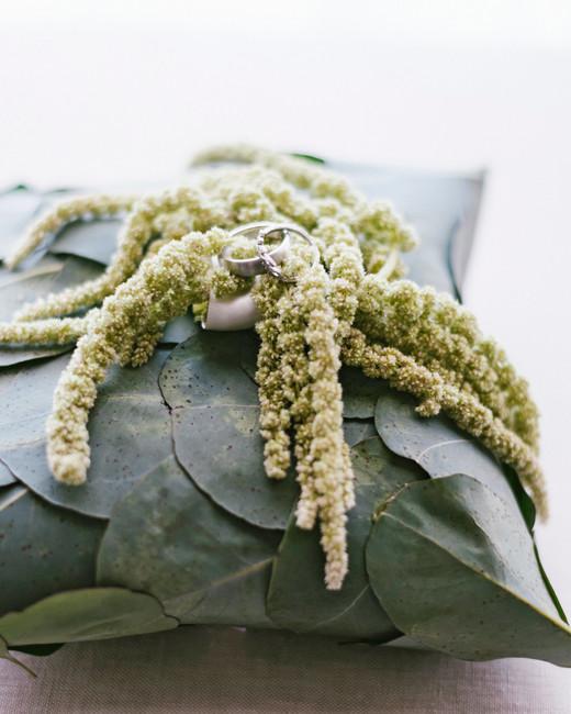 cassandra ben wedding california ring pillow