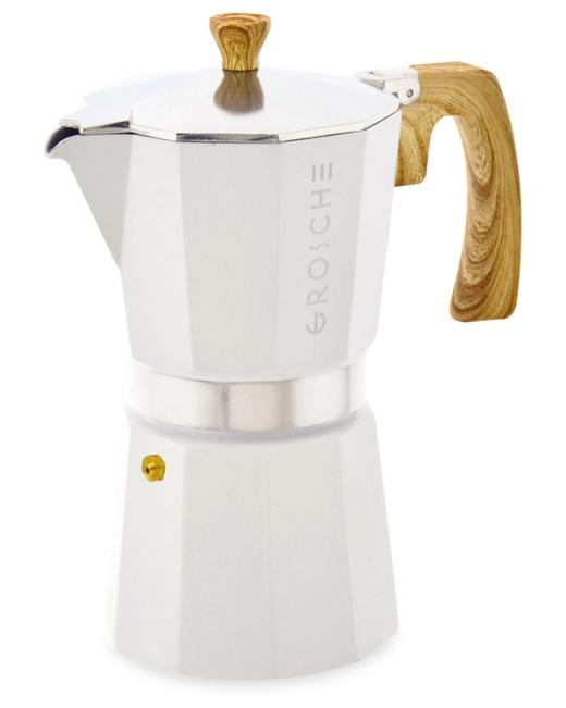 white espresso maker