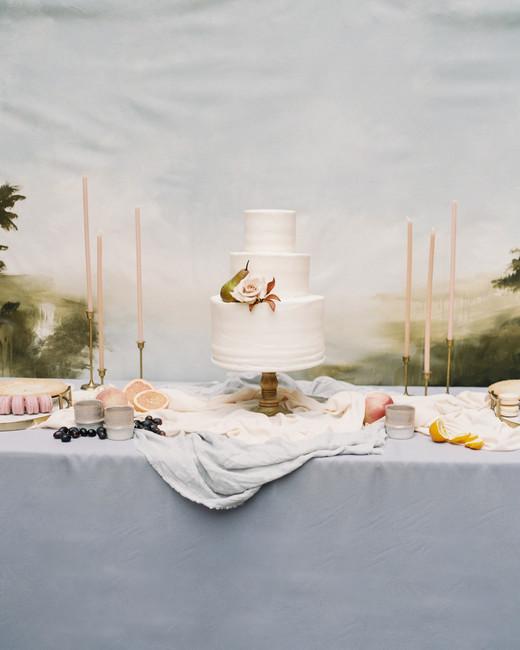 katie matthew ohio wedding dessert table