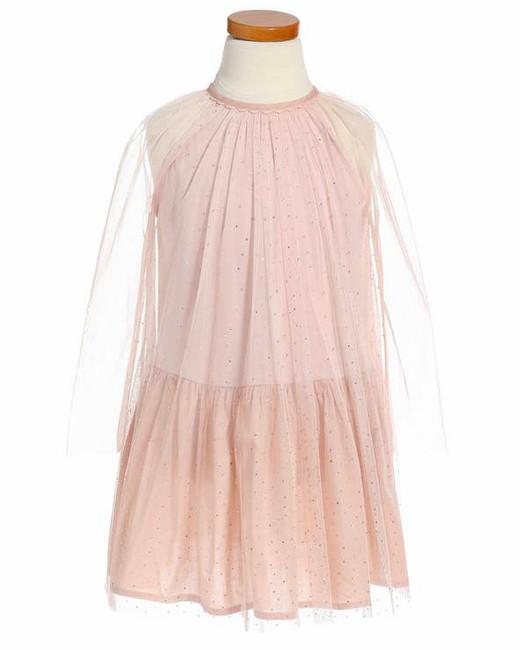 long sleeve flower girl dresses stella mccartney