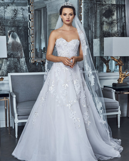 Sophia Tolli Bridal Spring 2019: Romona Keveza Spring 2019 Wedding Dress Collection