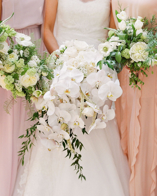 giordana and geoffrey bouquets