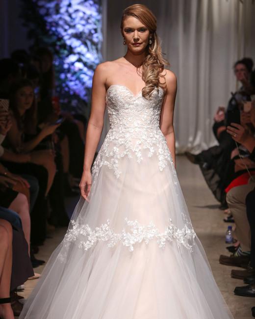 Matthew Christopher 2018 Sweetheart A Line Wedding Dress