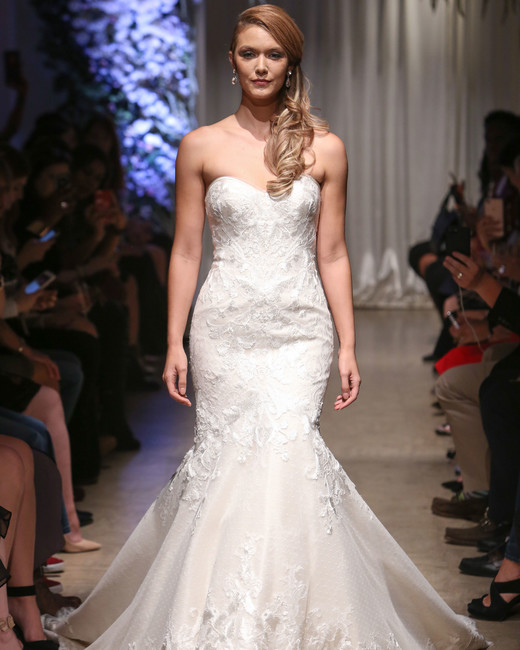matthew christopher 2018 sweetheart mermaid wedding dress