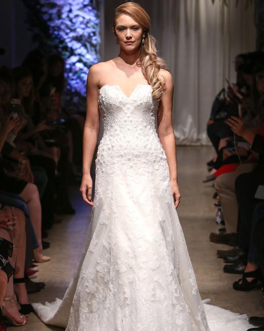 matthew christopher 2018 lace a-line wedding dress