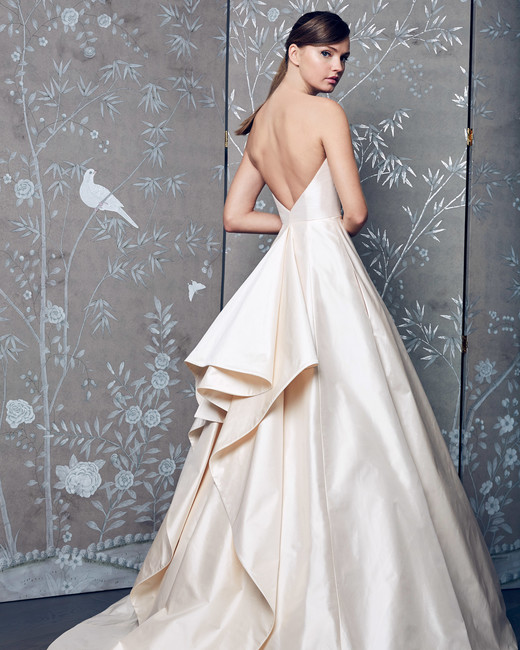 Legends Romona Keveza Backless A-Line Wedding Dress Fall 2018