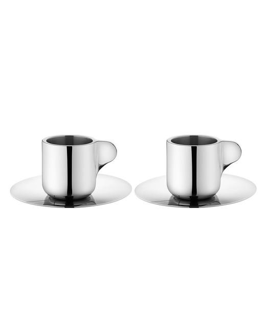 steel anniversary gifts espresso cups georg jensen